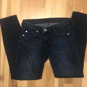 Dark blue jean - size 0 crop pants